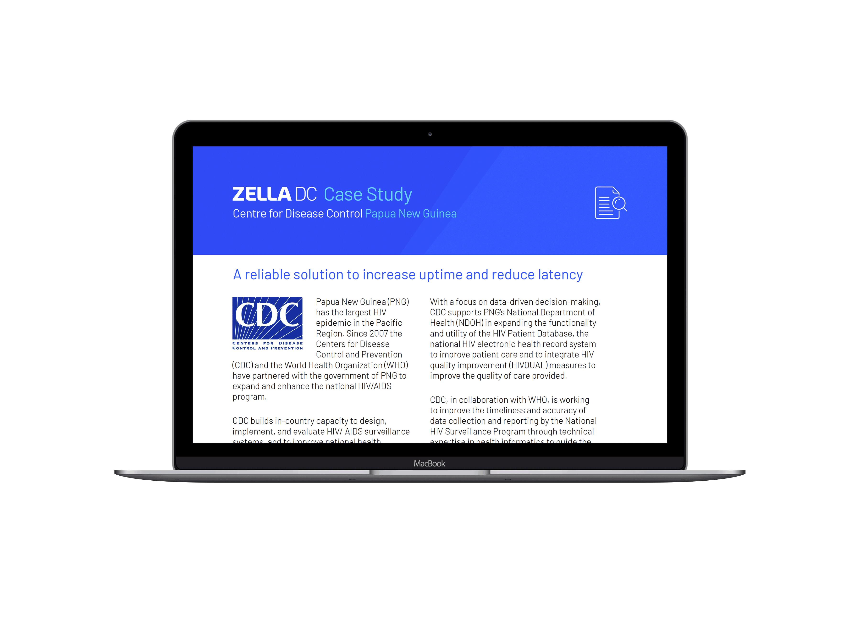CDC Case Study   Centre for Disease Control   CDC   Zella DC   Micro Data Center