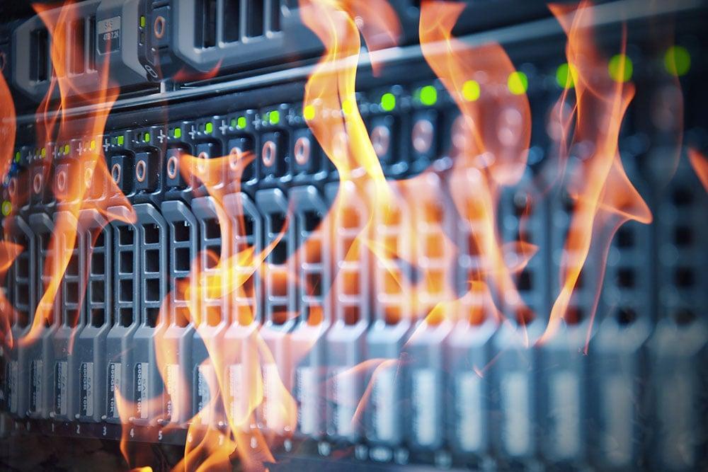 Data Center Fire | Micro Data Center | Cyber Security | Server Room | Zella DC